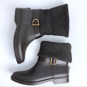 Salvatore Ferragamo rain boots